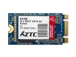 ZTC Armor 64GB 42mm M.2 NGFF 6G SSD Solid State Drive. Models ZTC-SM201-064G