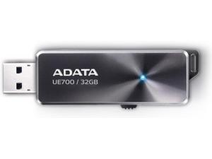 ADATA 32GB Elite UE700 USB 3.0 Flash Drive High Speed 200MB/s Silver. Model AUE700-32G-CBK