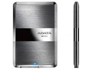 ADATA DashDrive Elite HE720 Slimmest Profile 1TB USB 3.0 External Hard Drive Titanium