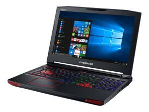 "Acer Predator 15 G9-593-71EH 15.6"" Notebook 1920 x 1080 Intel Quad Core i7 7th Generation 7700HQ 2.80GHz 16GB DDR4 SDRAM 1TB HDD 256GB SSD Windows 10 Home 64-bit IPS Technology Model NH.Q1ZAA.001"