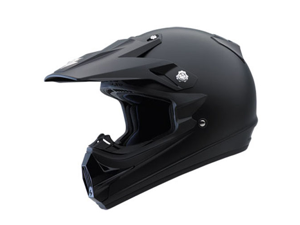 Scorpion VX-34 Demented Full Face Motocross Helmet Black Size X-Large