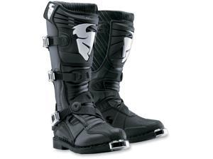 Thor Ratchet Motorcycle Off-Road Boot Black Size 9