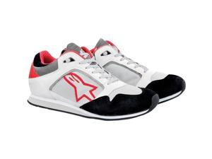 Alpinestars Classic Motorcycle Shoe White/Red Size EUR42.5/US9.5