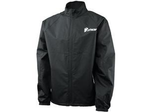 Thor Pack Lite Motorcycle Waterproof Jacket Black Size Large