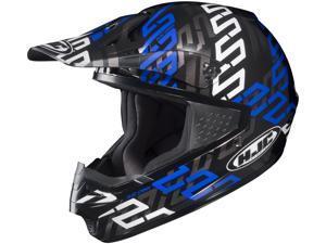 HJC CS-MX Link Off Road Motocross Helmet Blue Size Medium