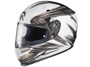 HJC RPHA-10 Evoke White Black Motorcycle Helmet Size Medium