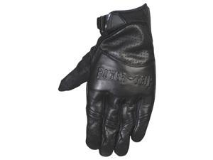 Power Trip Smack Motorcycle Gloves Black Size Medium