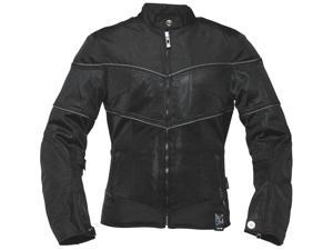 Power Trip Lola Motorcycle / Jacket Black Size 2-Diva