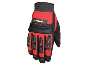 Joe Rocket Velocity Motorcycle Red / Gloves Black Size XX-Large