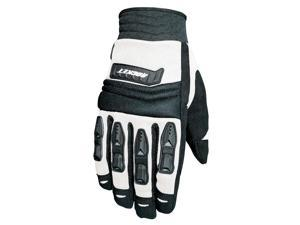 Joe Rocket Velocity Motorcycle White / Gloves Black Size XX-Large