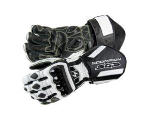 Scorpion SG3 Motorcycle Gloves White Size Small