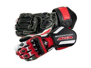 Scorpion SG3 Motorcycle Gloves Red Size Medium