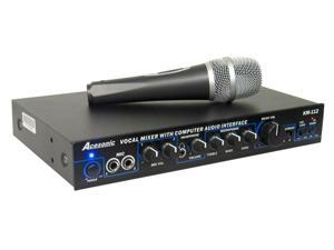 Acesonic KM-112 Karaoke Mixer with PC to USB Interface