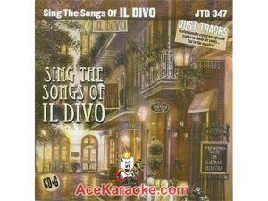 Pocket Songs Just Tracks Karaoke CDG JTG347 - Sing The Songs Of IL DIVO