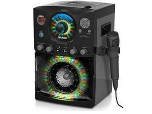 Singing Machine SML-385 CDG Karaoke Machine With Sound and Disco Light System