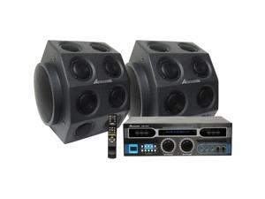 Acesonic AM-898 600W Amplifier + SP-582 Diamond Speakers Package