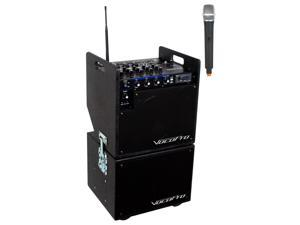 VocoPro MOBILEMAN-1 Battery Powered P.A. System with Subwoofer