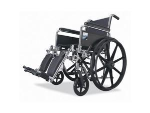 "Medline Excel Wheelchair 3000 Lightweight 18"""" Footrests"
