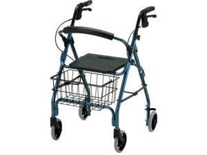 NOVA GetGo 4203 Rollator Rolling Wheeled Walker Blue