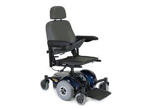 Pronto Power Mobility Wheelchair Blue Solid Base 16x16