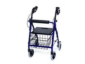 Invacare Junior Size Rollator w/ Loop Brakes & Basket