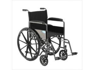 Veranda Standard Wheelchair - Arms: Permanent Full Length, Leg/Footrest: Footrests