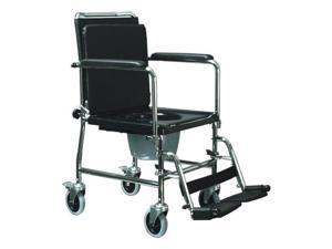 BED/SIDE COMMODE TOILET DROP/ARM TRANSPORT WHEEL/CHAIR