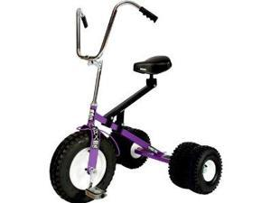 Dirt King Big Kid Dually Tricycle Trike PURPLE DK-252B-PR