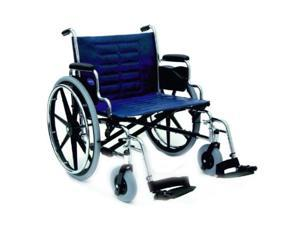 "XL Large Wide Invacare Folding Bariatric Wheelchair 24""9153639571"