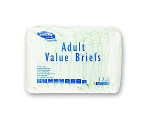 Pack 16 Adult Incontinence Briefs Underwear Diaper MD