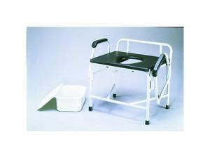 NOVA Extra Wide Heavy Duty 800 lb Drop Arm Commode Seat