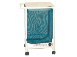 MJM PVC 217-S Medical Space Saving Single Jumbo Hamper