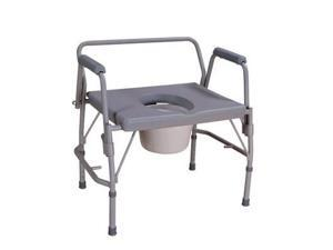 NOVA Heavy Duty Extra Wide Drop Arm Commode Chair Seat