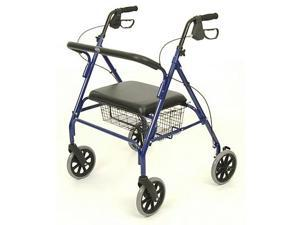 Invacare HEAVY DUTY WIDE FOUR 4 WHEEL ROLLATOR WALKER