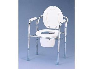 NOVA Folding Bedside Commode Chair Toilet Seat Portable