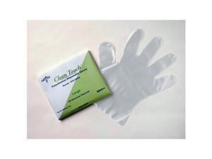 Medline MDS199094 Clean Touch Poly Disposable Gloves SM
