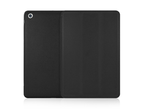 Mivizu Sleek Case + Screen Protector for iPad Mini 2012 Release, with Sleep/Wake (Black)