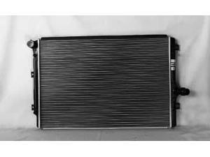 06-09 VW JETTA SEDAN 2.0L L4 A/MT 1-ROW Radiator