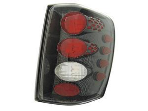 IPCW CWT-CE5002CF Jeep Grand Cherokee 1999 - 2004 Tail Lamps, Crystal Eyes Carbon Fiber