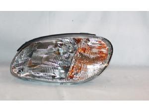 TYC 20-6404-00 Left Side Headlight Assembly
