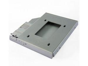 SATA 2nd HDD Caddy w/ Screws for DELL Latitude: D500, D505, D510, D520, D530, D600, D610, D620, D630, D800, D810, D820, D830, ...