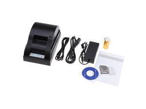 USB Mini 58mm POS Printer 384 line Thermal Dot Receipt Printer Set w/ Roll Paper