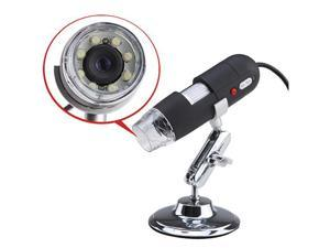 2.0MP USB Digital Microscope 50X~500X Magnifier Video Camera w/ 8-LED