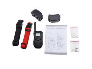 AGPtek® Remote Control Dog Training Transmitter & 2 Collars , 100 Level Shock and Vibration