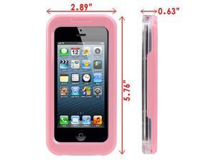 Waterproof Snowproof Hard Case Cover for iPhone 4G/ 4S, iPhone 5G w/ Neck Strap