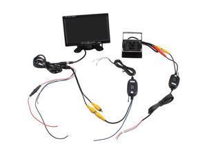 "7"" -inch TFT LCD Rear View Monior + Wireless Night Vision Car Reverse Backup Camera Kit"