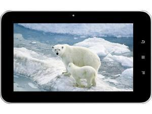 "AGPtek 7"" Capacitive Touch Screen Tablet - 4GB/Dual Core ARM Cortex A9 1.5GHz/512MB Memory/Android 4.1 (White)"
