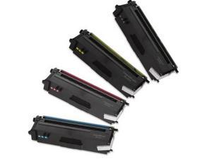 Compatible Brother TN-315 / TN315 Color Toner Set for Brother HL-4150cdn, HL-4570cdw, HL-4570cdwt, MFC-9460cdn, MFC-9560cdw, ...