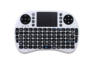 2.4GHz Wireless Portable Mini QWERTY Keyboard w/ Touchpad for PC, HTPC/ IPTV, Google Android TV Box, PlayStation 3/ PS3, ...