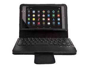 AGPtek Removable Bluetooth Keyboard PU Leather Case for Asus Google Nexus 7 FHD II 2nd Gen - Up to 10M